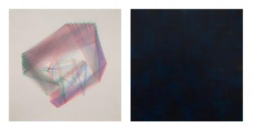 - Mundo abstracto RGB Nº 01. Díptico