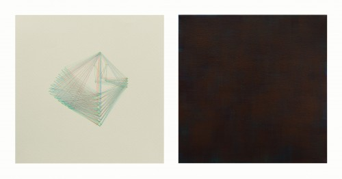 - Mundo abstracto RGB Nº 02. Díptico